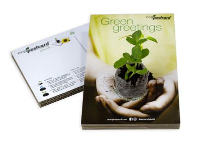 Cartolina ecologica Green greetings