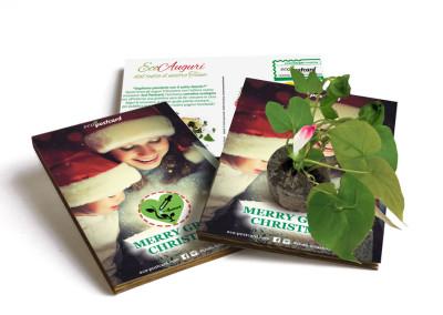 Eco-Postcard cartolina auguri Natale