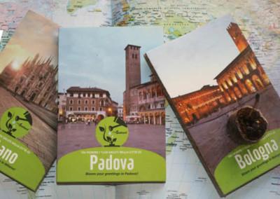 Eco-Postcard cartoline turistiche con semi