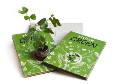 Gadget ecologico Eco-Postcard