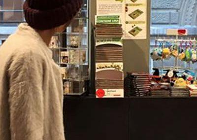 biglietti auguri ecologici per librerie