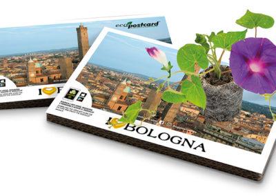 Cartolina turistica ecologica Bologna