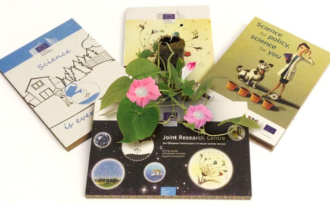 #livingcommunication: Eco-postcard goes abroad