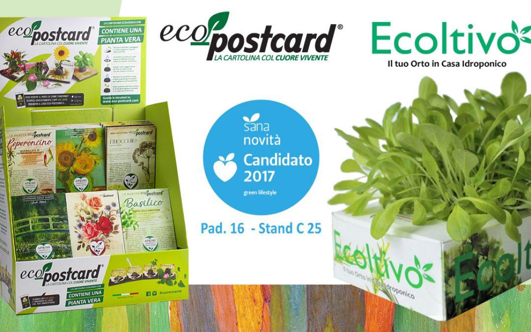 Al SANA 2017 Eco-postcard incontra Ecoltivo!