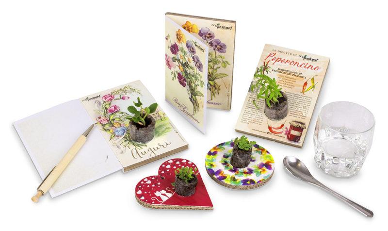 cartoline ecologiche eco-postcard