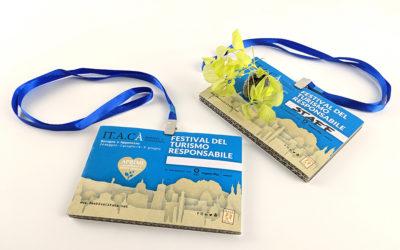 Badge ecologici per fiere ed eventi