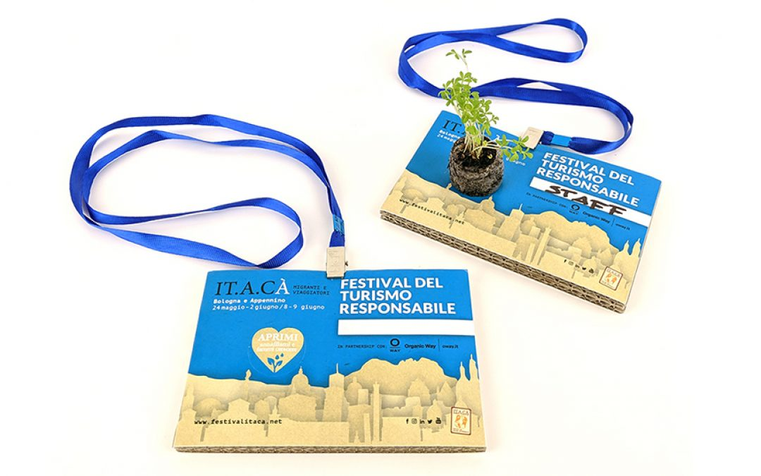 Badge ecologici per fiere ed eventi