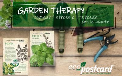 Garden Therapy: combatti stress e tristezza in casa con le piante